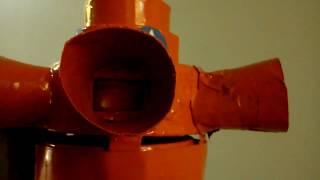 Mini air raid siren