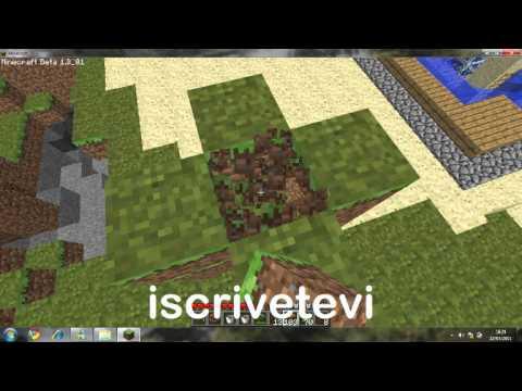 minecraft:come costruire una fontana - YouTube