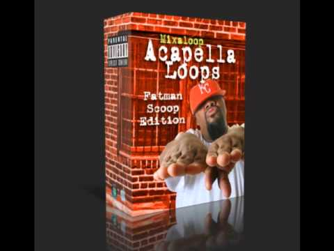 Mixaloop Acapella Loop Pack - Fatman Scoop Edition (Free Download)