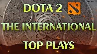 Dota 2 - Top 10 EPIC Pro Plays Main Event TI6