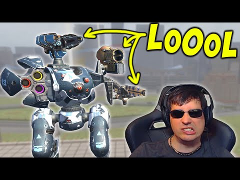 OMG - What A Freak CERBERUS Setup: War Robots Mk2 Gameplay WR