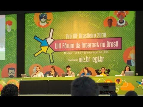 [VIII FórumBR] Proteção de dados pessoais no Brasil