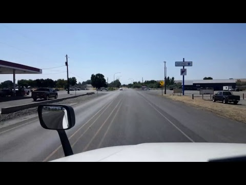 BigRigTravels LIVE! - Pasco to Kennewick, Washington - US 395 South - July 19, 2017