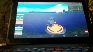 Roblox| Playing on my tablet with keyboard|Clone tycoon