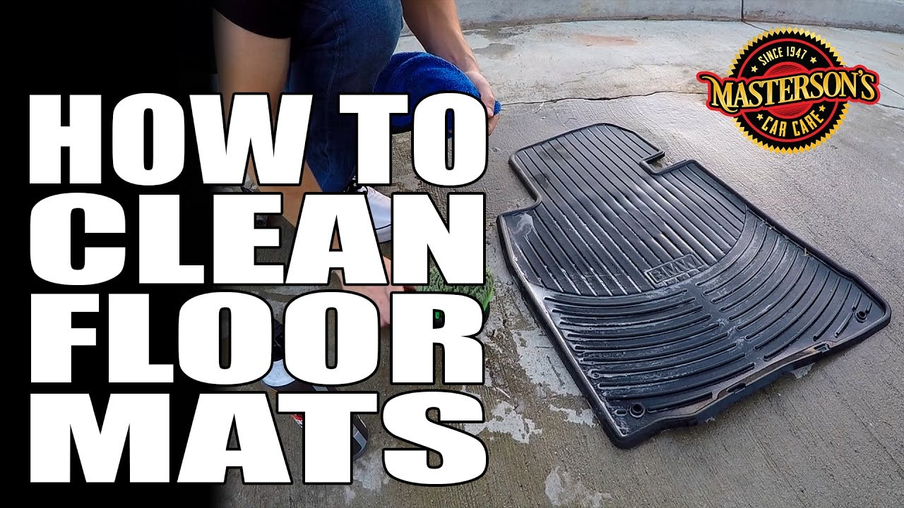 Best Way To Clean Dirty Car Floor Mats Thefloors Co
