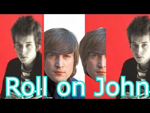 BOB DYLAN - ROLL ON JOHN {Vamos John} - ESPAÑOL ENGLISH (GRAN DEDICATORIA DE UN GRANDE, I MISS JOHN