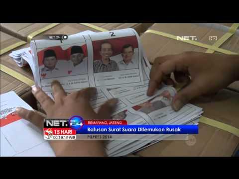 KPU Sampang Temukan Ratusan Surat Suara Rusak - NET24