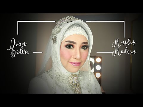 Proses Make Up Pengantin Muslim Modern By Ivan Belva | Wedding Risanti & Sigit