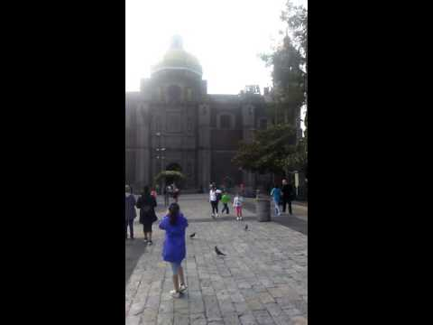 1st part of our vacation la Basilica De Guadeloupe. Mexico City