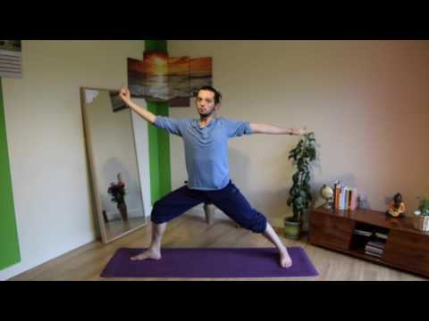 Slice of Yoga with Lucas Reversed Warrior (Viparita Virabhadrasana)