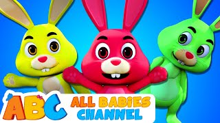 ABC | The Bunny Hop Song | Easter Songs For Kids | Kids Songs By Babies Channel