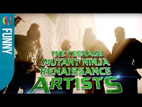 The Teenage Mutant Ninja Renaissance Artists | Horrible Histories