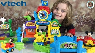 VTech Go! Go! Smart Wheels Mickey Choo Choo Express Train Playset