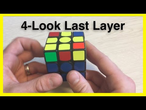 4-Look Last Layer - OLL And PLL Tutorial