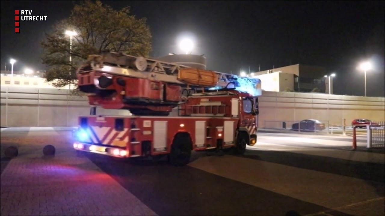 Brand in gevangenis Nieuwegein RTV Utrecht - YouTube