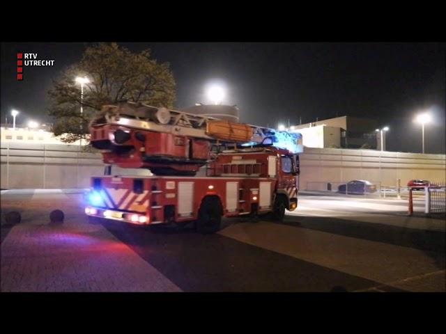 Brand in gevangenis Nieuwegein  [RTV Utrecht]