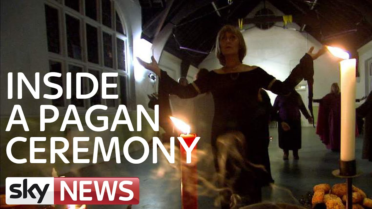 what happens at a pagan ceremony with loop control youtube