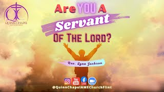 Are You A Servant of the LORD | Mar 21st Virtual Worship Service