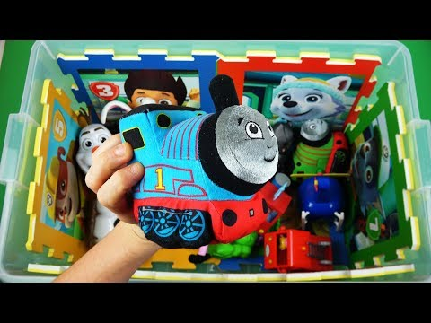 Learning with vehicles, characters, colors & fun! Stitch, Peppa, Ben & Holly, Thomas video for Kids