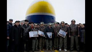 Ан 124 100 полет в Гостомеле 35 лет