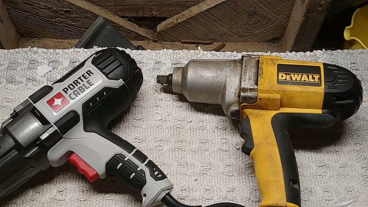 PORTER-CABLE PCE211 7.5 Amp 1//2 Impact Wrench