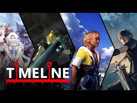 TIMELINE: La historia de Final Fantasy