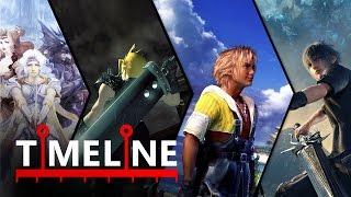 La historia de Final Fantasy: TIMELINE