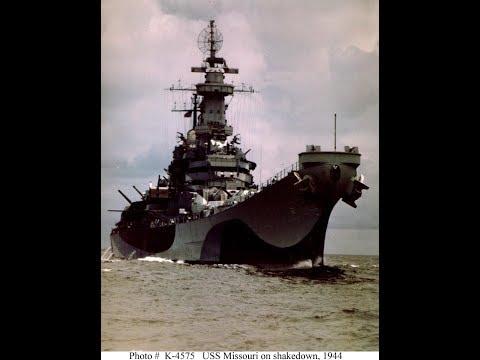 World Of Warships: The USS Missouri