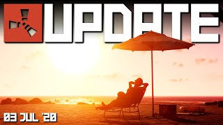 Cars are here and summer (DLC) is near! | Rust Update 3rd July 2020