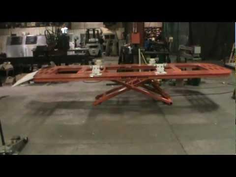 Blackhawk Power Pro 360 Rack Frame Straightening Machin