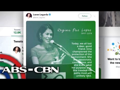 Ilang celebrities, may tribute kay ABS-CBN Foundation Chairman Gina Lopez | UKG