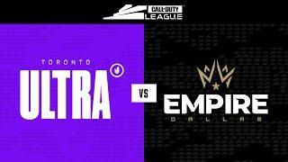 Semi-Final A | Toronto Ultra vs Dallas Empire | Toronto Ultra Home Series | Day 3