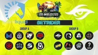 [Dota 2 Live]🔴Team Liquid vs Team Secret [RU] ESL ONE Online |BO3| Next : Розыгрыш Арканы