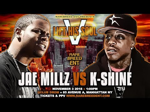 JAE MILLZ RETURNS TO BATTLE RAP (NOV 3RD) - RBE