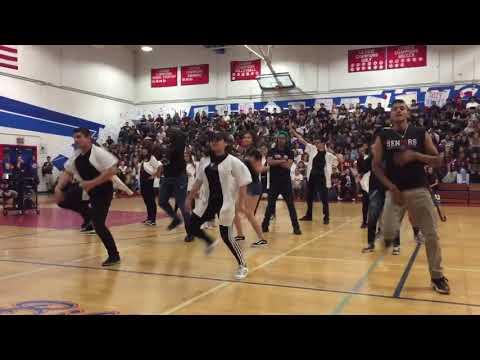 East Union High School Senior Walkout Rally 2018