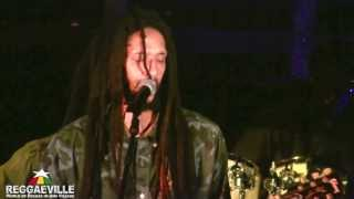 Julian Marley - Lion In The Morning / Rainbow Country @ Wickie Wackie in Jamaica 2/1/2014