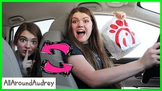 Drive Thru Switch Up Challenge / AllAroundAudrey
