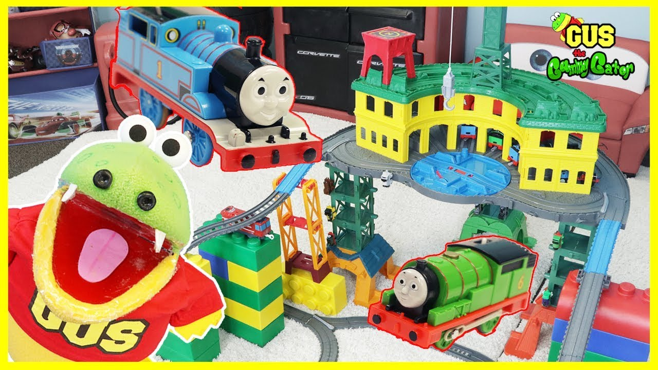 Thomas Amp Friends Super Station Playset Biggest Thomas Toy