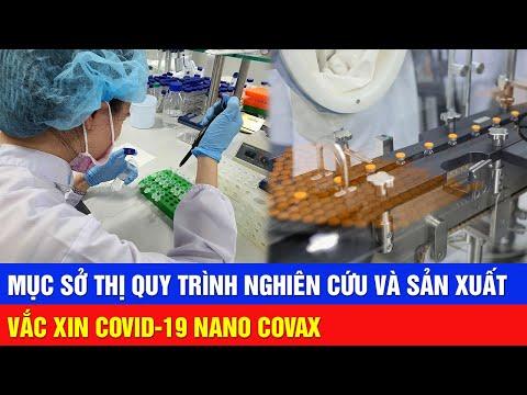 Quy trình nghiên cứu và sản xuất vắc xin Covid-19 Nano Covax