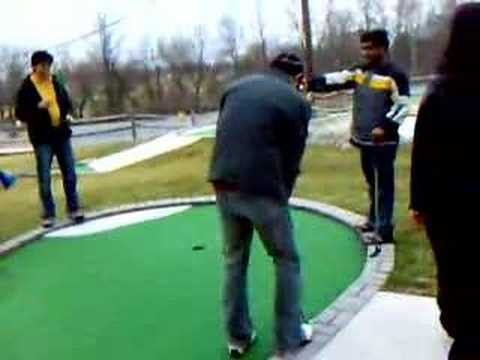 Sports emporium Mini Golfing