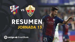 Resumen de SD Huesca vs Elche CF (2-0)