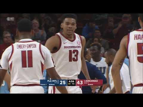 Arkansas vs. Florida International 12/1/2018