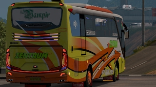 zentrum mk    ets2 bus mod indonesia