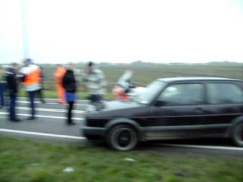 Verkeersongeval in Zwaagdijk