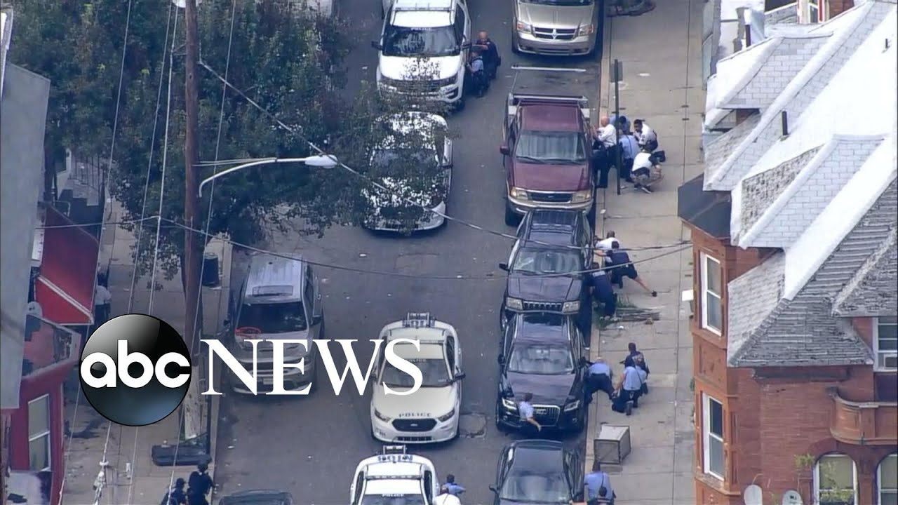 At least 5 police officers wounded in Philadelphia shootout