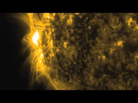 Solar X-Flare Spitfire Seen By Multiple Spacecraft | Video