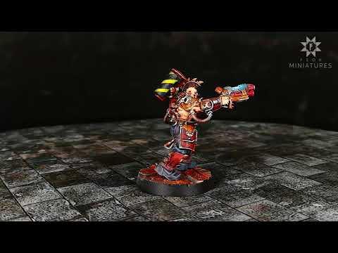 Necromunda Goliath Gang Showcase