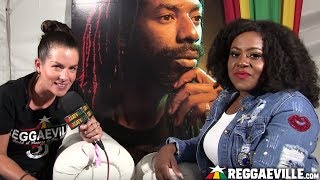 Etana - Interview @ Buju Banton's Long Walk To Freedom Concert in Kingston, Jamaica [March 16, 2019]
