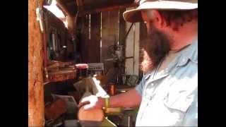 Idaho Hillbilly Homestead # 89 Carving Knives, Bio-char, Mushroom Hunting, Lyme Disease Awareness
