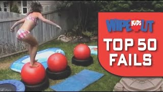 WIPEOUT KIDS - TOP 50 FAILS